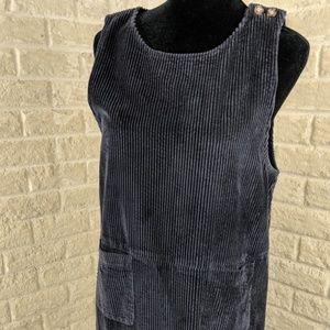 Talbots Corduroy Modest Jumper Lagenlook Dress